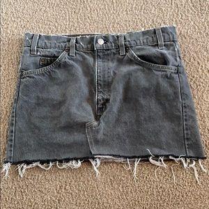 🟢 Women's Levi Mini Skirt